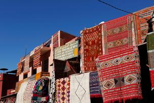モロッコ マラケシュの旧市街 の写真素材 [FYI01603915]