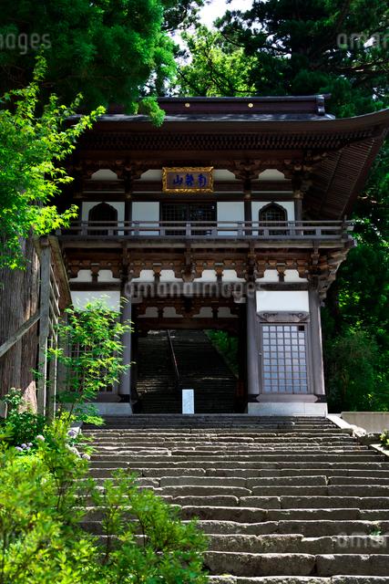 大山寺山門の写真素材 [FYI01603928]