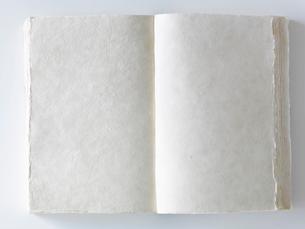 無地のひらいた本の写真素材 [FYI01603992]