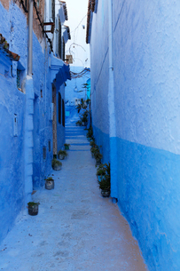 モロッコ シャウエンの写真素材 [FYI01604017]
