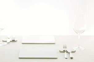 テーブルセッティングの写真素材 [FYI01604153]
