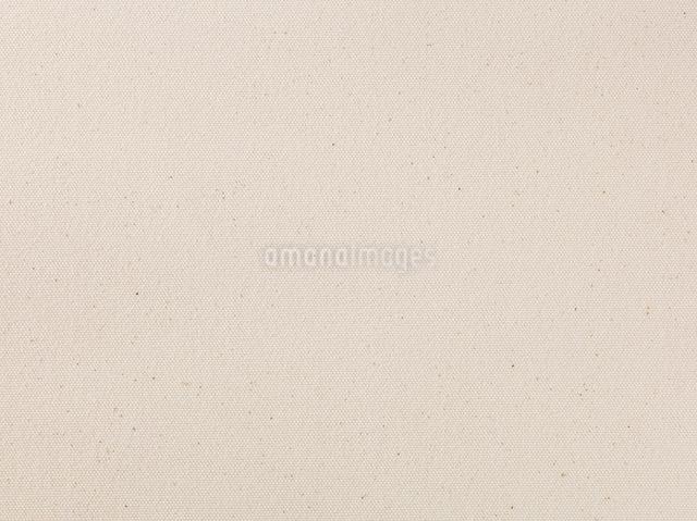 ベージュのキャンバス布の写真素材 [FYI01604285]