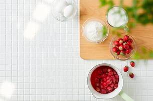 キッチンと料理の写真素材 [FYI01604334]