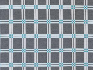 青の麻の布の写真素材 [FYI01604340]