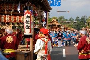 松江祭鼕行列の写真素材 [FYI01604427]