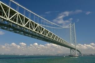 明石海峡大橋の写真素材 [FYI01604430]
