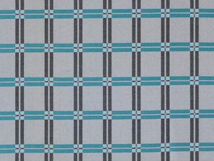 青のチェックの布の写真素材 [FYI01604722]
