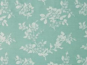 水色の花柄の布の写真素材 [FYI01604922]