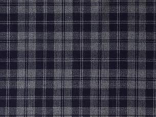 紺のチェックの布の写真素材 [FYI01604928]