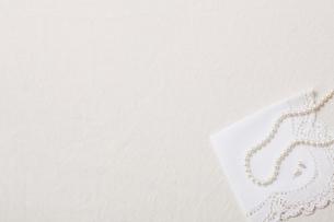 パールのネックレスの写真素材 [FYI01604935]