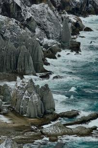 冬の海岸の写真素材 [FYI01604945]