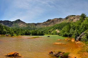 磐梯山の銅沼の写真素材 [FYI01604962]