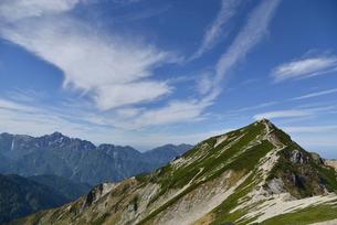 唐松岳と立山連峰の写真素材 [FYI01604989]