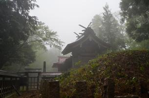 比婆山の久米神社奥の宮の写真素材 [FYI01605034]