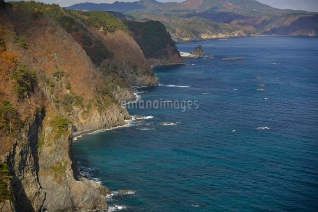 鵜の巣断崖の写真素材 [FYI01605249]