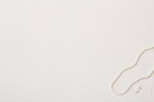 パールのネックレスの写真素材 [FYI01605257]