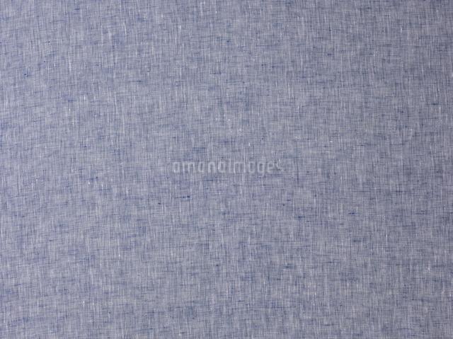 青の麻の布の写真素材 [FYI01605292]