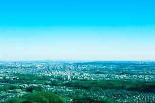 八王子から東京の眺めの写真素材 [FYI01605592]
