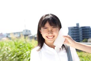 制服の女子高生の写真素材 [FYI01605614]