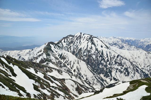 五竜岳の写真素材 [FYI01605771]