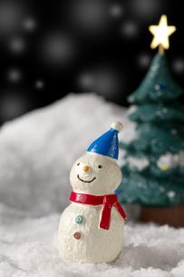 雪だるまの写真素材 [FYI01607196]