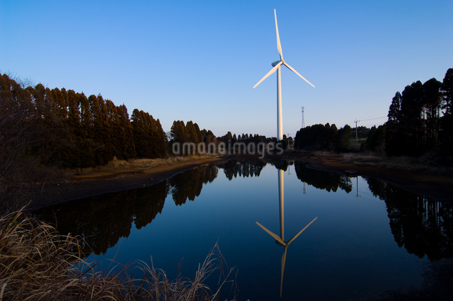 風力発電の写真素材 [FYI01607342]