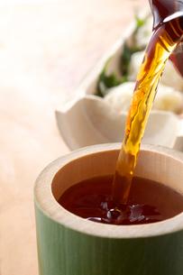 麺露と素麺の写真素材 [FYI01607343]