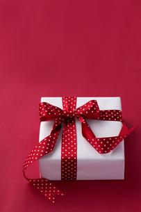 リボンのかかったプレゼントの写真素材 [FYI01607733]