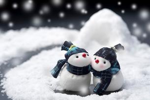 雪だるまの写真素材 [FYI01607980]