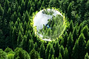 地球環境イメージの写真素材 [FYI01608537]