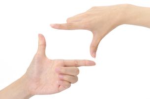 女性の手の写真素材 [FYI01608691]