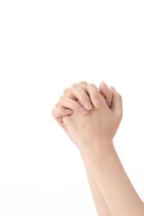 女性の手の写真素材 [FYI01608741]