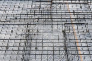 戸建ての基礎工事の写真素材 [FYI01608809]