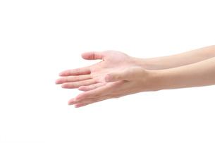 女性の手の写真素材 [FYI01608870]