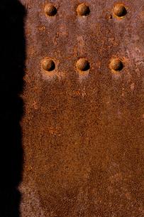 鉄の壁の写真素材 [FYI01609016]