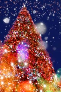 クリスマスイルミネーションの写真素材 [FYI01609258]