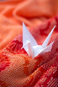 折り鶴の写真素材 [FYI01609437]