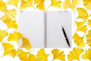 ノートと万年筆の写真素材 [FYI01609609]