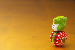 辰と手毬の写真素材 [FYI01609725]