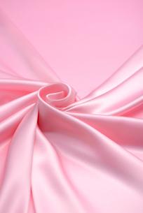 ピンクのドレープの写真素材 [FYI01609780]