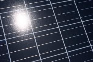 ソーラーパネルの写真素材 [FYI01609893]
