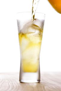冷たいウコン茶の写真素材 [FYI01610020]