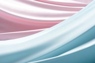 ブルーとピンクのドレープの写真素材 [FYI01610063]