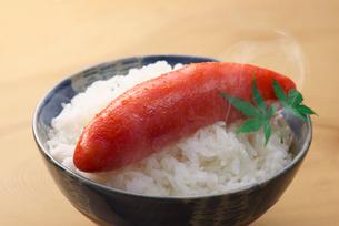 たらこと御飯の写真素材 [FYI01610151]