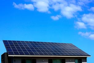 ソーラーパネルの写真素材 [FYI01610206]
