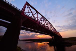 筑後川橋の写真素材 [FYI01610262]