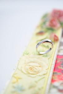 結婚指輪の写真素材 [FYI01610427]