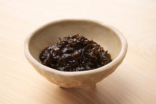 ワカメ入り海苔佃煮の写真素材 [FYI01610555]