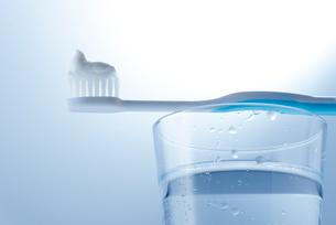 歯磨きの写真素材 [FYI01610792]