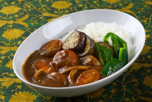 野菜カレーの写真素材 [FYI01610860]
